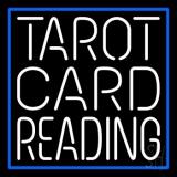 White Tarot Card Reading LED Neon Sign