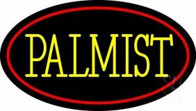 Yellow Palmist Block LED Neon Sign