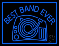 Best Band Ever LED Neon Sign