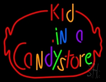 Kid In A Candy Store LED Neon Sign