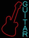 Blue Guitar 2 LED Neon Sign
