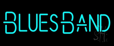 Blues Band Neon Sign