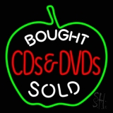 Bought Cd And Dvd Sold LED Neon Sign