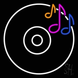 Cd Musical Note LED Neon Sign