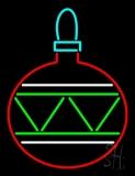 Christmas Bulb Neon Sign