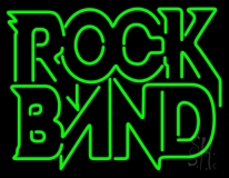 Double Stroke Rock Band LED Neon Sign