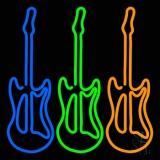 Guitars LED Neon Sign
