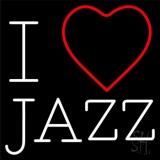 I Love Jazz LED Neon Sign