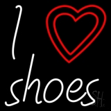 I Love Shoes LED Neon Sign