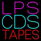 Lps Cds Tapes LED Neon Sign