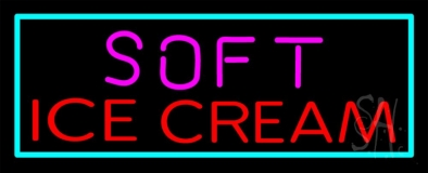 Soft Ice Cream LED Neon Sign