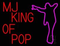 Mj King Of Pop LED Neon Sign