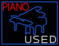 Piano Used LED Neon Sign