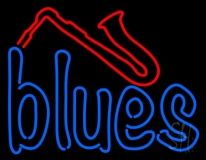 Red House Of Blues Company Store LED Neon Sign