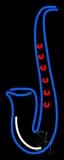 Saxophone Logo Neon Sign