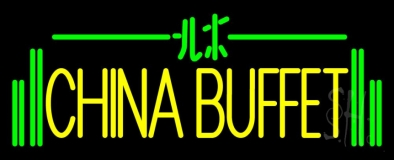 China Buffet LED Neon Sign