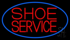 Shoe Service LED Neon Sign