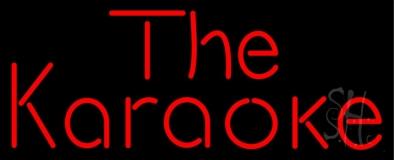 The Karaoke Neon Sign