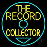 The Record Collector LED Neon Sign