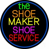The Shoe Maker Shoe Service LED Neon Sign