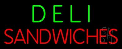 Deli Sandwiches LED Neon Sign