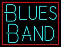 Turquoise Blues Band LED Neon Sign