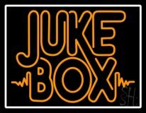 White Border Double Stroke Juke Box LED Neon Sign