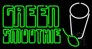 Green Smoothies LED Neon Sign