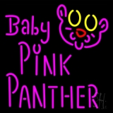 Baby Pink Panther LED Neon Sign