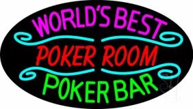 Best Poker Room Liquor Bar Beer LED Neon Sign