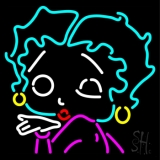 Betty Boop Winking LED Neon Sign
