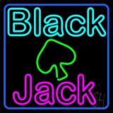 Blackjack Poker Neon LED Neon Sign