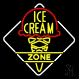 Ice Cream Zone LED Neon Sign