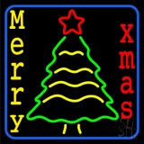 Merry Xmas LED Neon Sign