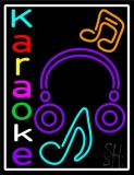 Multicolored Karaoke LED Neon Sign
