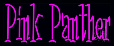 Pink Panther LED Neon Sign