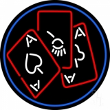Poker Ace And Poker LED Neon Sign