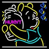 Pooh Loves Honey LED Neon Sign