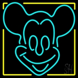 Red Mickey Neon Sign
