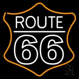 Route 66 Block LED Neon Sign