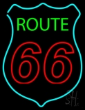 Route Double Stroke 66 LED Neon Sign