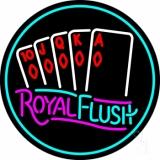 Royal Flush Poker LED Neon Sign