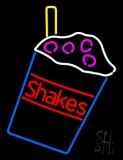 Shakes In Between Glass LED Neon Sign