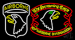 Airborne Division Screaming Eagle LED Neon Sign