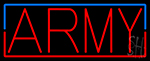 Army LED Neon Sign