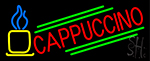 Blue Cappuccino Cup LED Neon Sign