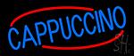 Blue Cappuccino Neon Sign