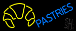 Blue Pastries Logo LED Neon Sign