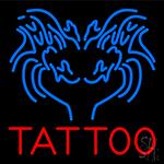 Blue Tattoo Logo LED Neon Sign
