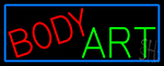 Body Art Neon Sign